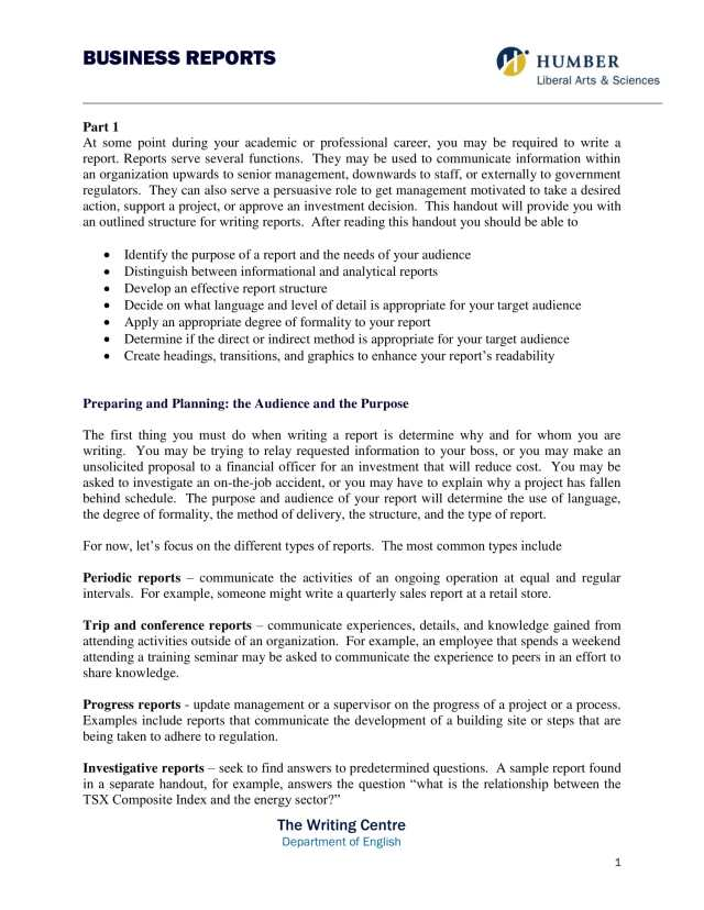 29+ Business Report Examples - MS Word  Pages  Google Docs  PDF