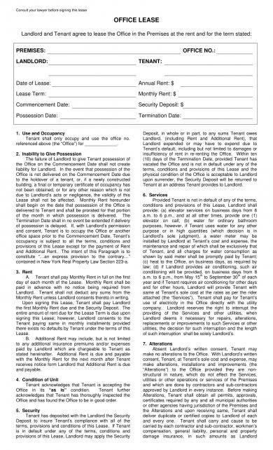 Commercial lease agreements are much more complicated than the residential leases as the … 20 Commercial Lease Agreement Examples Pdf Word Examples