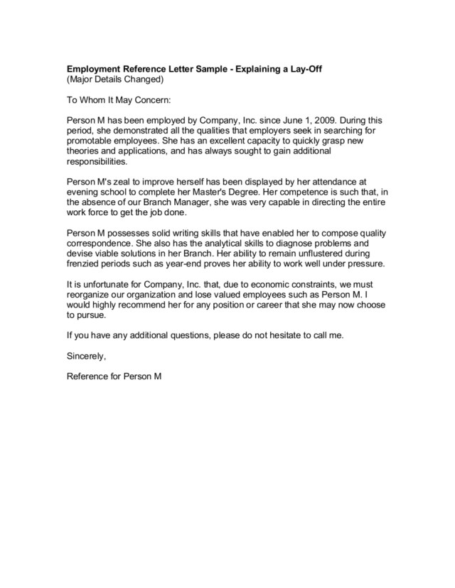 21+ Reference Letter from a Previous Employer Examples - PDF  Examples