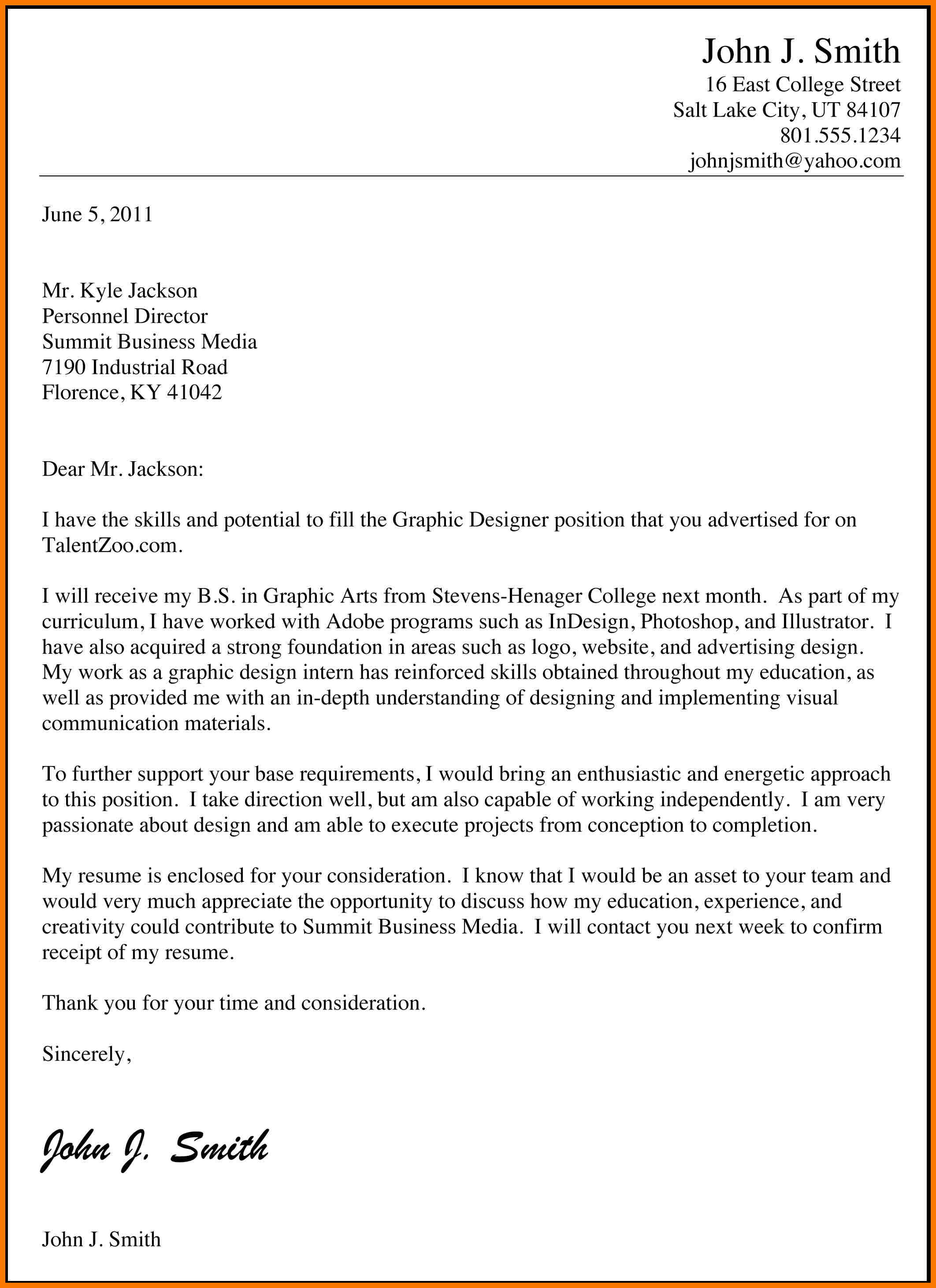 9 Official Job Application Letter Examples  PDF  Examples
