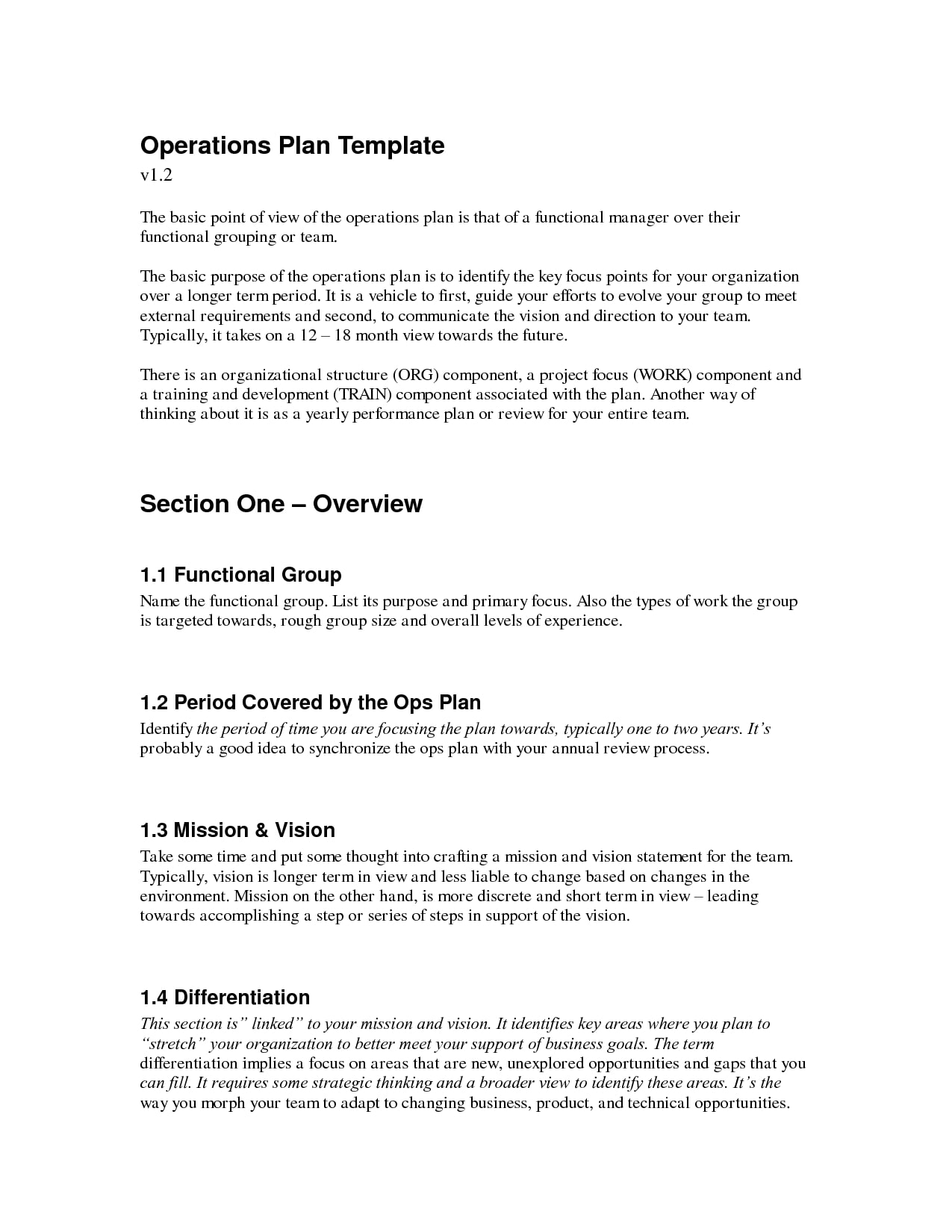 business development plan sample