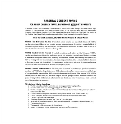 17 Authorization Letter for a Child to Travel Examples