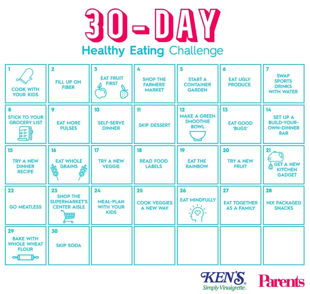9 30 Day Meal Plan Examples