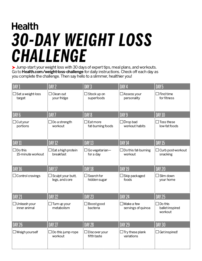 6 30 day workout