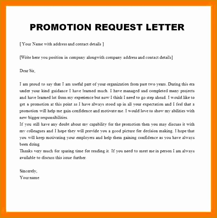 12 Promotion Recommendation Letter Examples PDF Examples