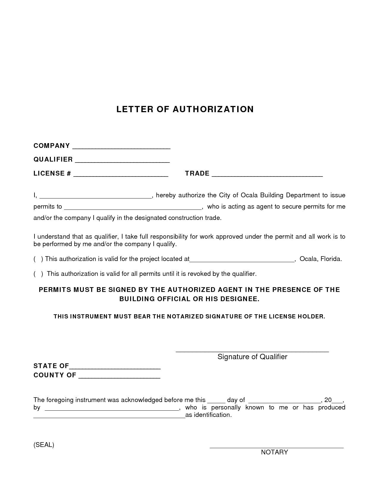 9 Agent Authorization Letter Examples  PDF  Examples
