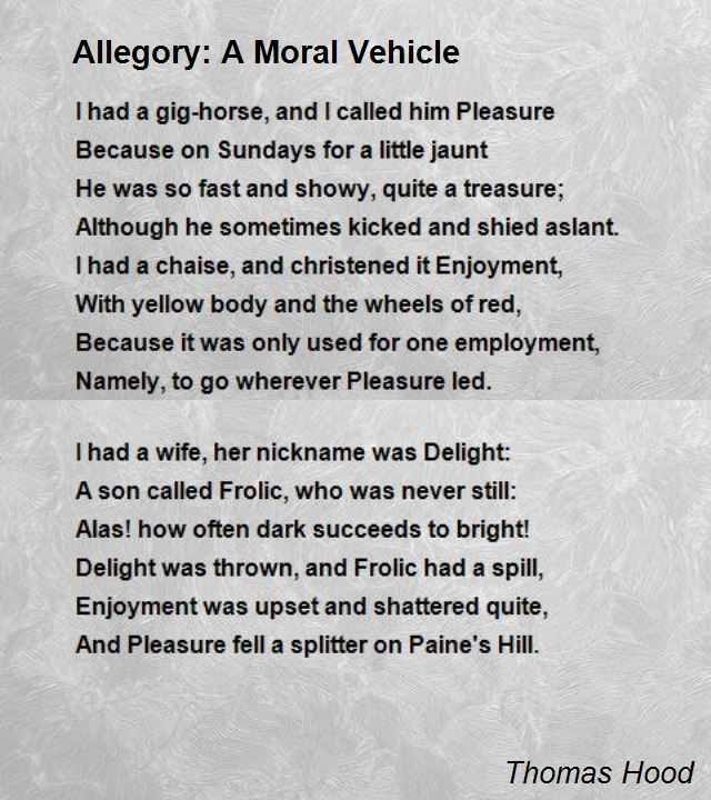 8 Simple Allegory Examples PDF