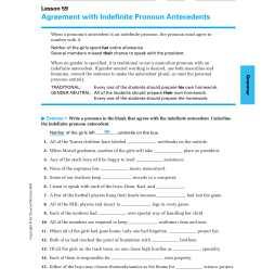 9+ Pronoun Antecedent Examples -PDF   Examples [ 2200 x 1700 Pixel ]