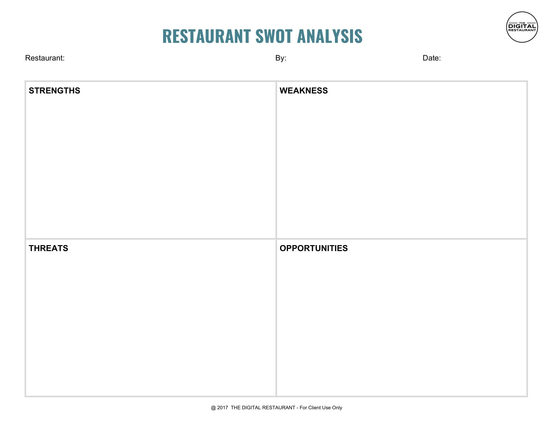 12 Restaurant Swotysis Examples