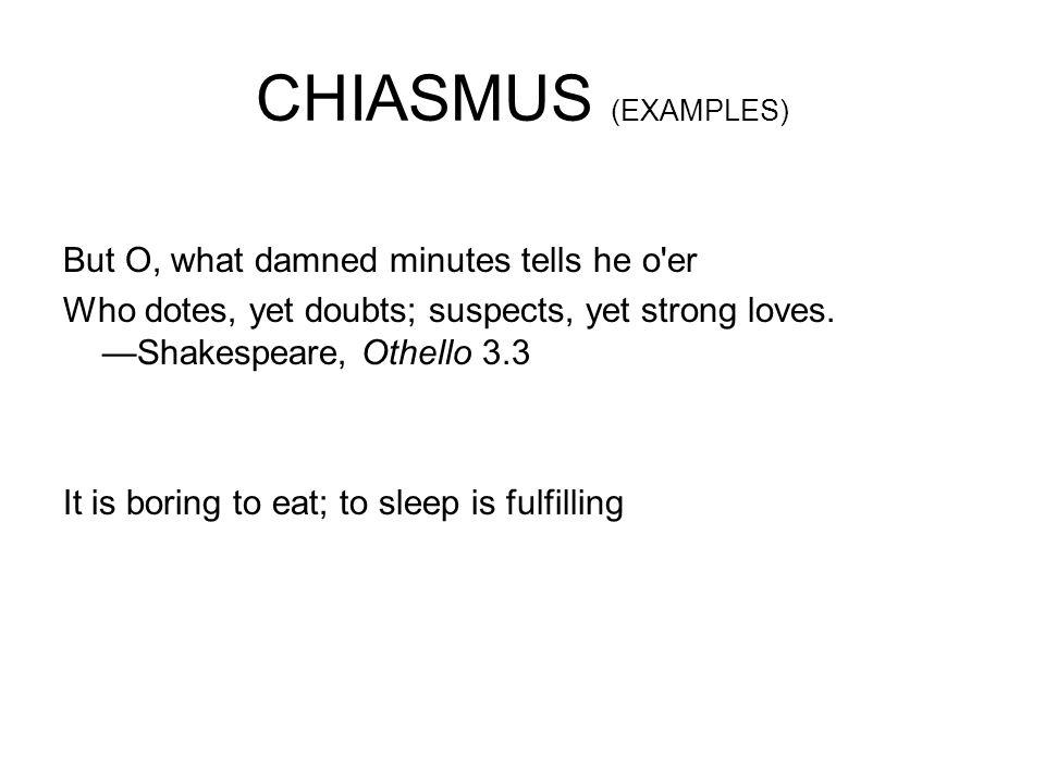 10 Chiasmus Examples In Literature PDF Examples
