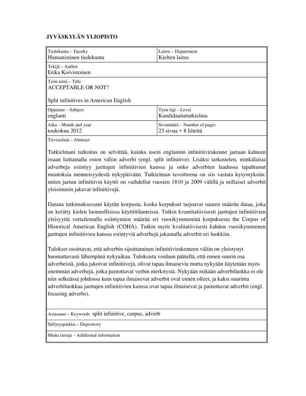 medium resolution of 10+ Split Infinitive Examples - PDF   Examples