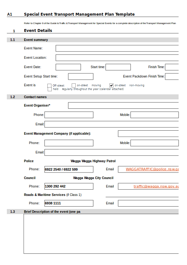 11 Transport Management Plan Template Examples PDF XLSX DOC Examples