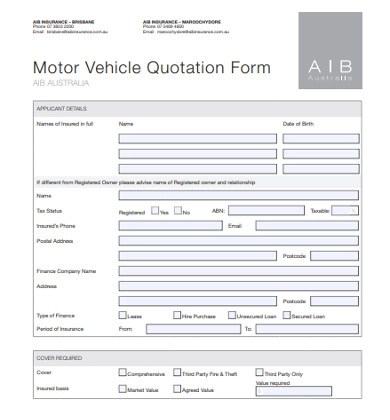 Free 10 Vehicle Quotation Examples Templates Download Now Examples