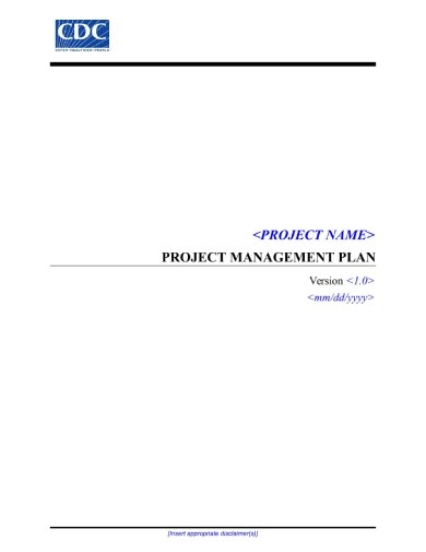 10+ Project Management Plan Examples & Templates [Download