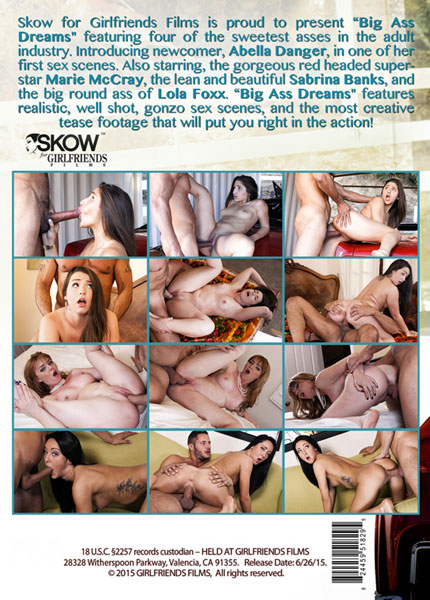 Big Ass Dreams – XXX DVD
