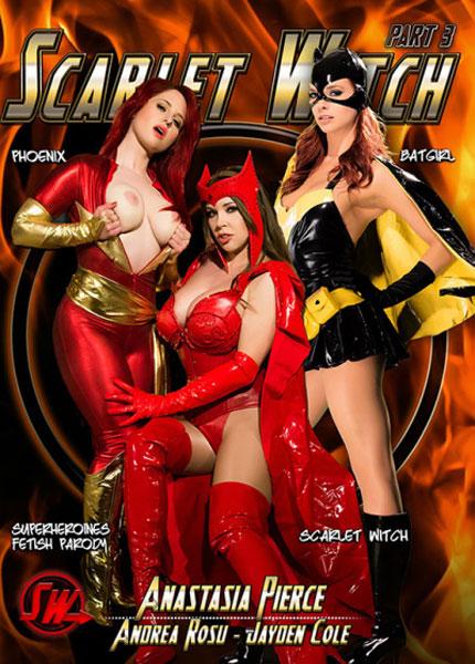 Scarlet Witch 3, Porn DVD, Anatasia Pierce, Andrea Rosu, Jayden Cole, All Girl, Lesbian, Bondage, Cosplay, Domination, Female Domination, Fetish, Parody, Sex Toy Play, Strap-Ons, Superheroines Fetish Parody