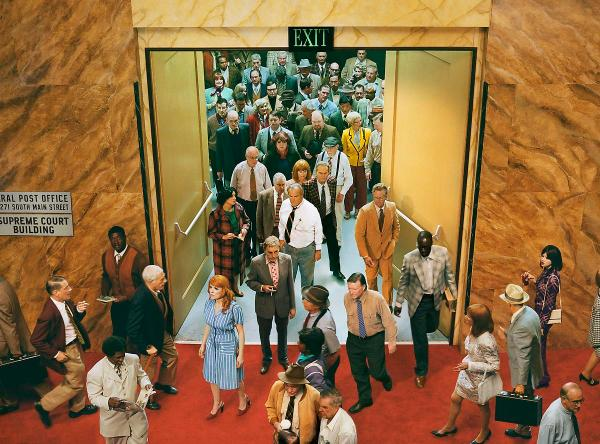 Alex Prager Photography in the Crowd Face