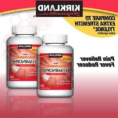 Kirkland Signature Extra Strength Acetaminophen 1000 Caplets