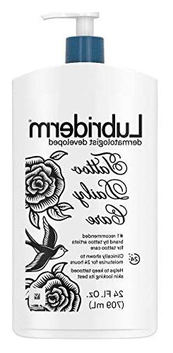 Lubriderm Tattoo : lubriderm, tattoo, Lubriderm, Tattoo, Daily, Lotion,, Water-Based, Unscented