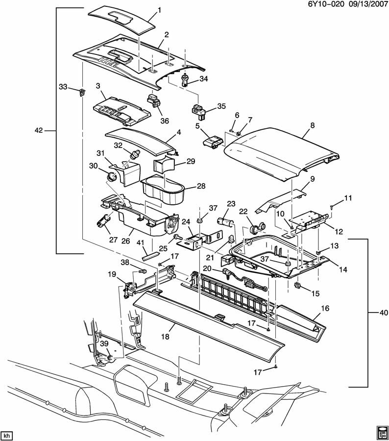 Service manual [2004 Cadillac Xlr Removal Diagram