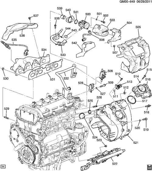 small resolution of 2011 terrain engine diagram data wiring diagram schema rh 42 danielmeidl de chevy cruze engine diagram