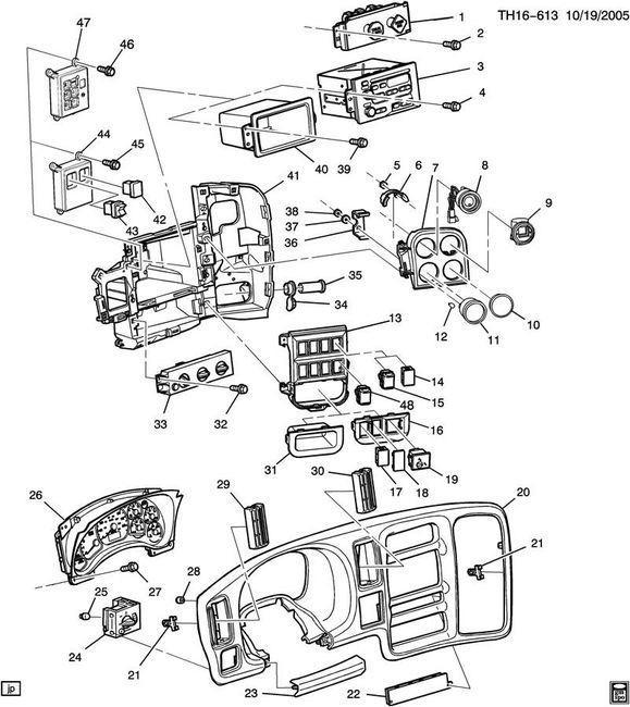 GMC Topkick Kodiak Air Brake Parking Switch Valve E