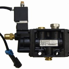 Airbag Suspension Valve Wiring Diagram Outlets In Series 03 09 Topkick Kodiak C Andt6500 Andt8500 Rear Air