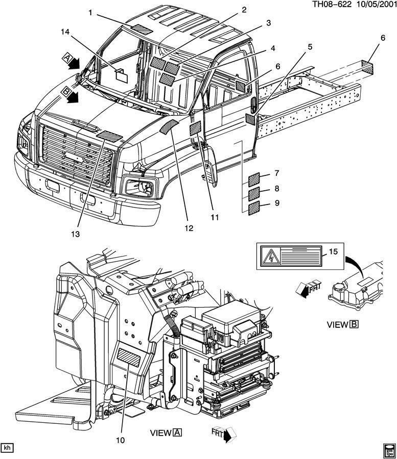 2003-2009 Topkick/Kodiak C6500-C8500 2 Speed Shift