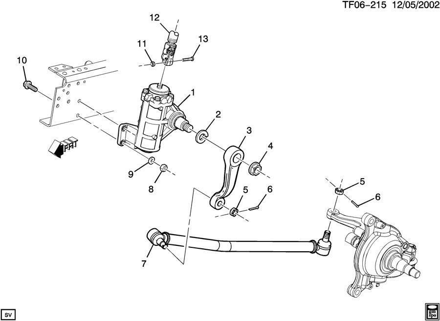 2004-2009 Topkick/Kodiak T6500-T8500 Steering Connecting