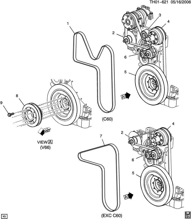 2004 Cat C7 Engine Belt Diagram 3126 Parts Diagram Wiring
