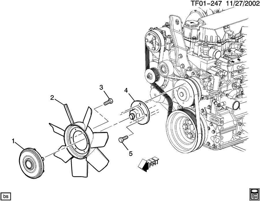 04-09 Topkick T6500 T7500 T8500 7.8 Isuzu LG4 Engine