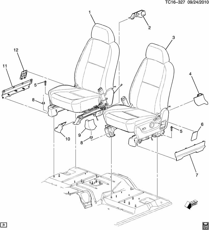 Wiring Diagram For 2012 Cad Escalade Front Seat : 47