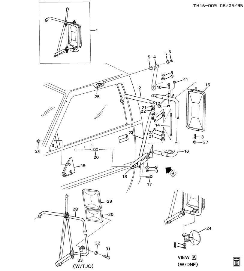 Hummer H3 Side Mirror Parts Diagram. Diagram. Auto Wiring
