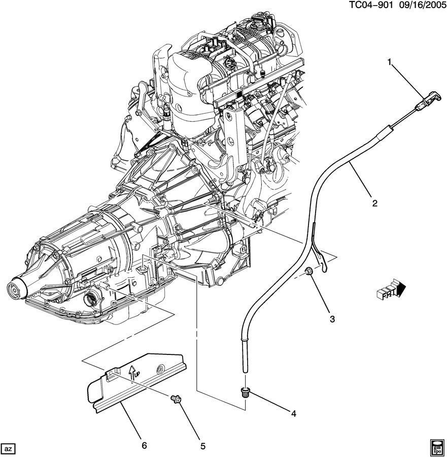 Service manual [Removal Of 2009 Hummer H2 Transmision