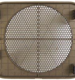 1996 2005 chevy astro gmc safari rear right speaker grille neutral tan 15986416  [ 1155 x 960 Pixel ]