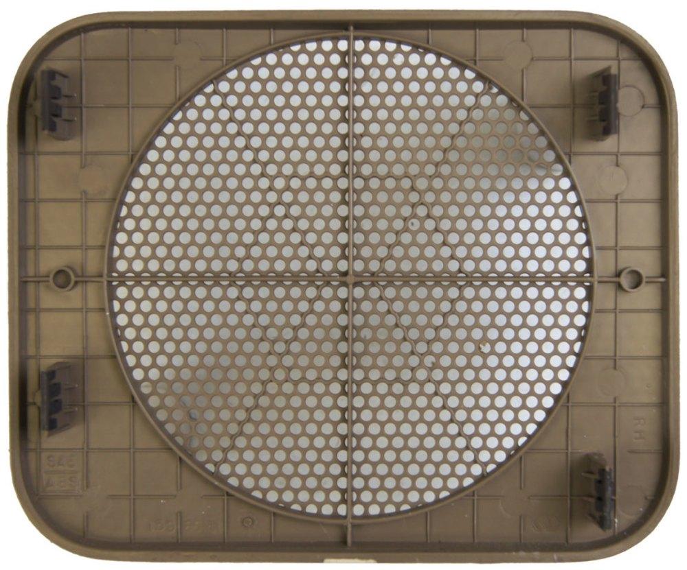 medium resolution of  1996 2005 chevy astro gmc safari rear right speaker grille neutral tan 15986416