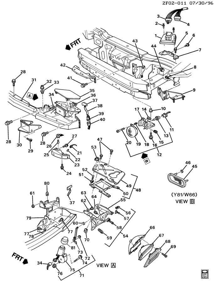 1991-2004 Corvette Firebird Saturn SC Headlight Motor