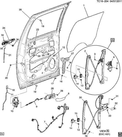 small resolution of gmc sierra door diagram wiring diagram schematics trans am door diagram 2009 2011 silverado sierra rear