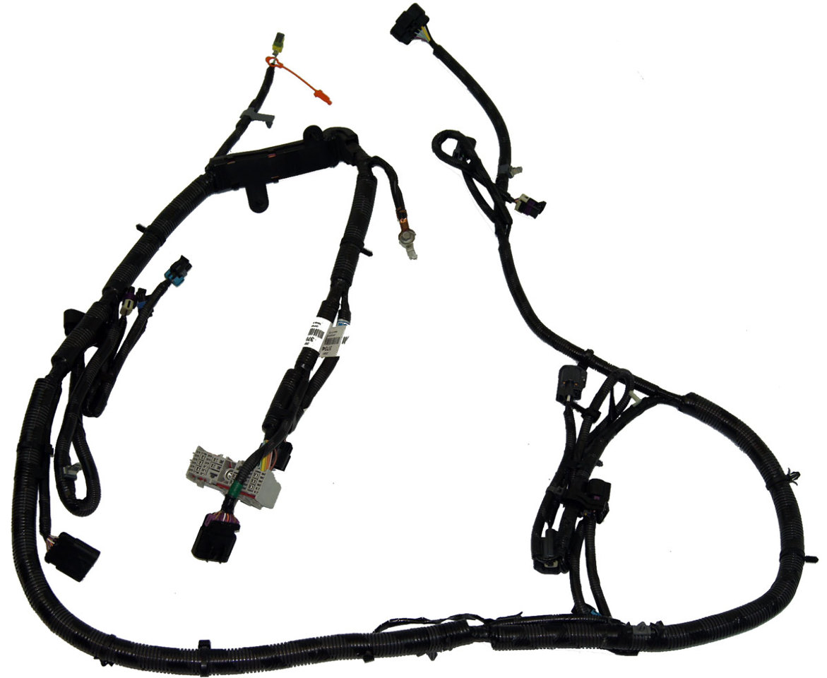 hight resolution of 2008 2011 cadillac dts headlight wire harness 20813704