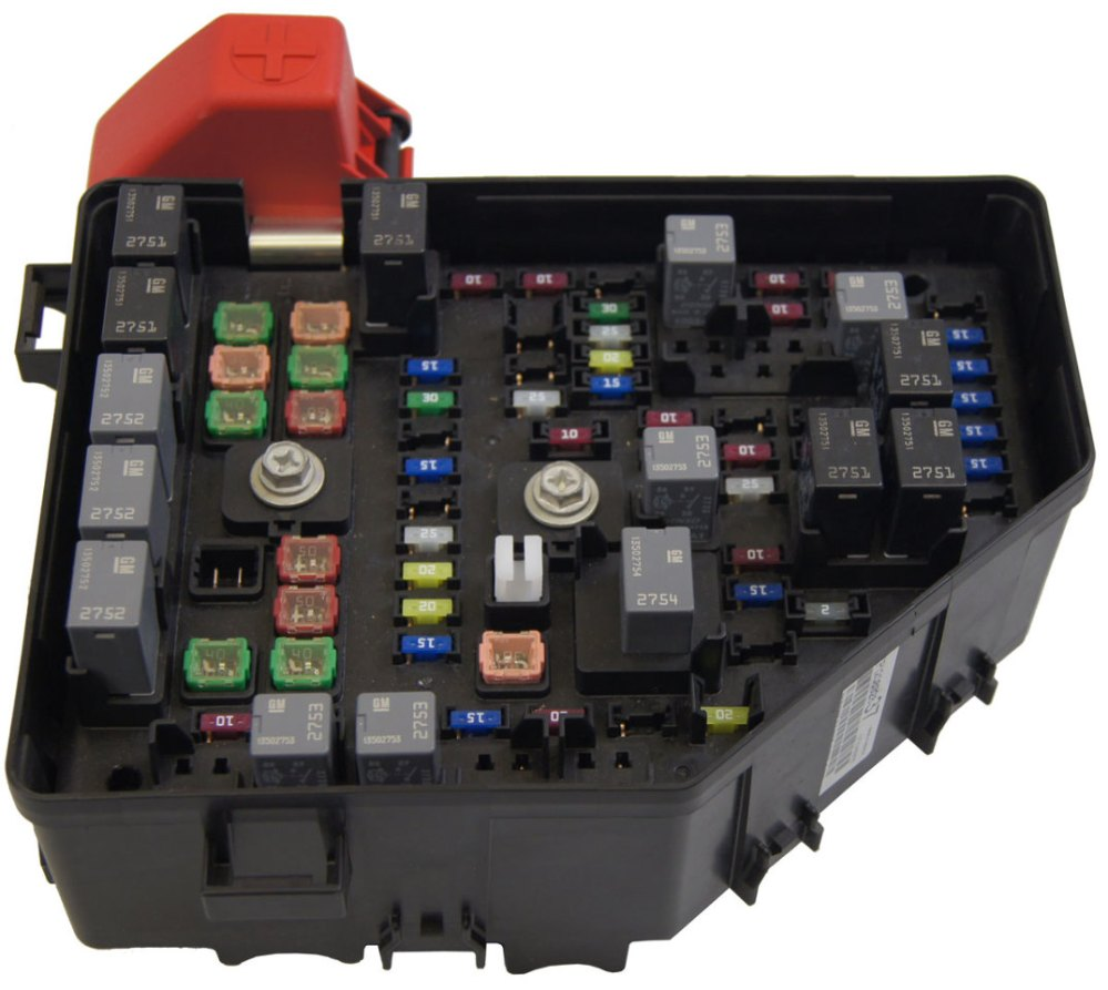 medium resolution of 2010 buick enclave saturn outlook chevy traverse fuse box block new oem 20832837