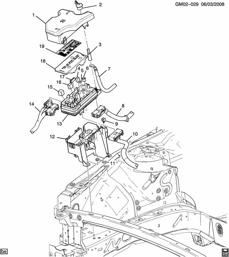 2011 buick lucerne fuse box diagram