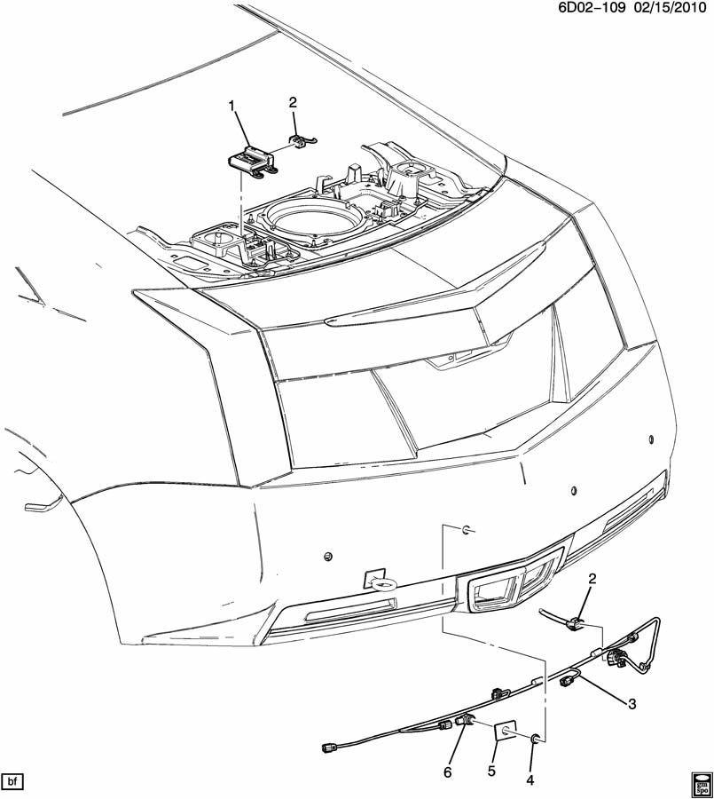 2010-15 GM Rear Backup Sensor Control Module New OEM