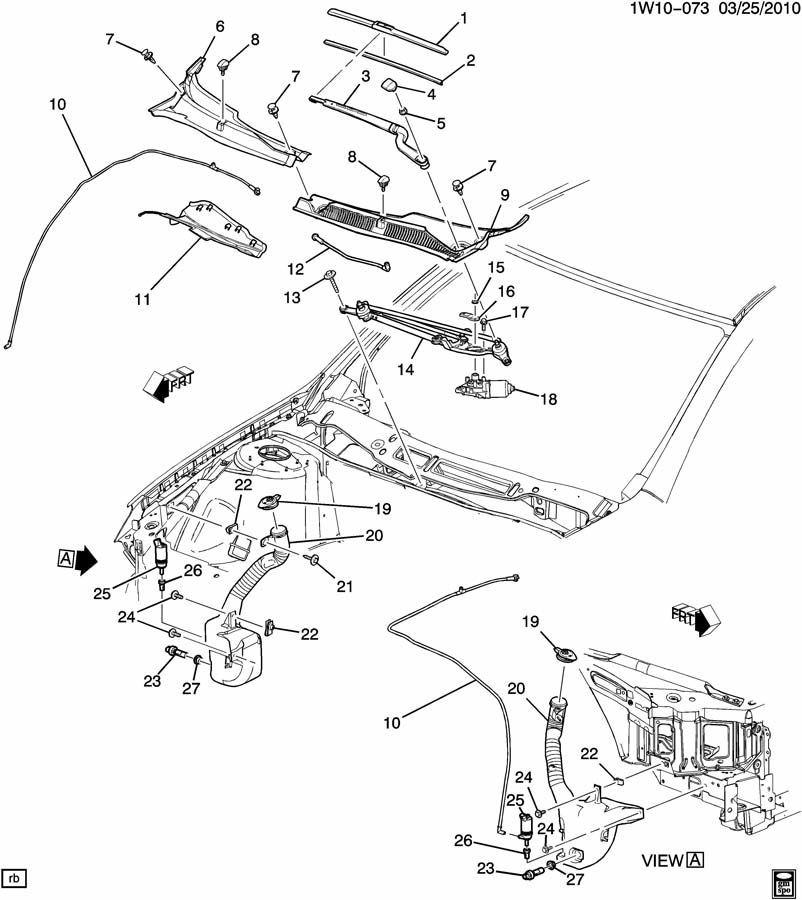 2011-2014 Chevy Impala Windshield Wiper Blade LH New