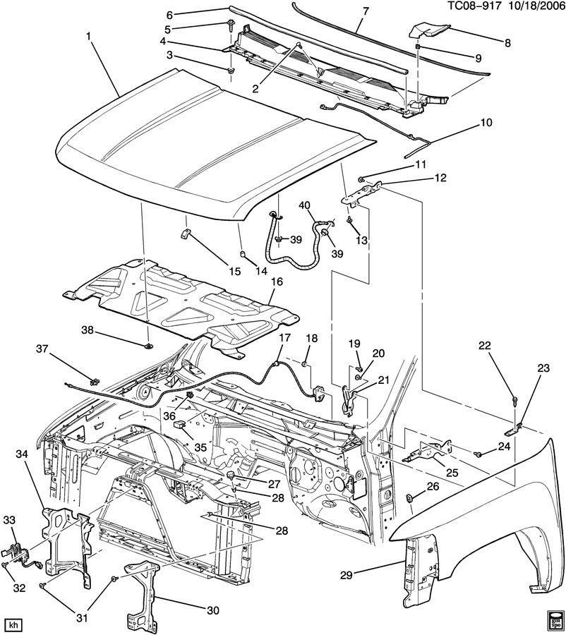 2005 Chevy Suburban Parts Diagram 2005 Chevy Cavalier