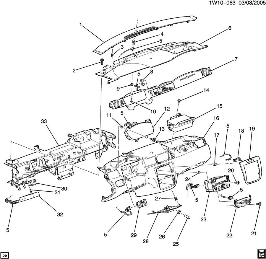 2012-2014 Chevy Impala Headlight Switch W/O Fog Lamps New