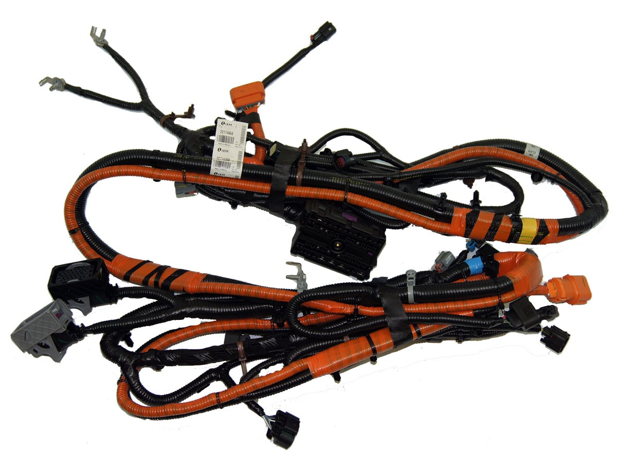 hight resolution of  2011 chevy volt chassis wiring harness 22774868 20957243 22741403