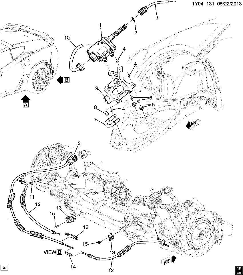 medium resolution of  2013 2016 gm vehicles electronic parking brake module new oem 13501701 23121339