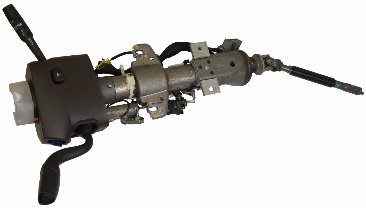 hight resolution of  2014 15 gm silverado sierra steering column w tilt cocoa brown new n33 23381900