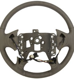 2004 2005 buick lesabre steering wheel med grey leather new w cruise audio  [ 958 x 960 Pixel ]