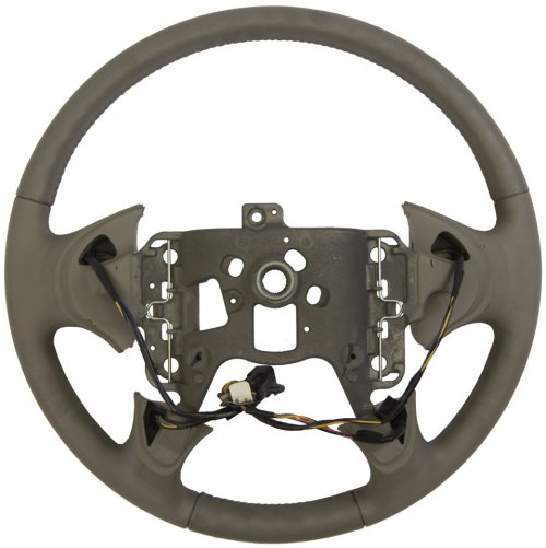 small resolution of  2004 2005 buick lesabre steering wheel med grey leather new w cruise audio